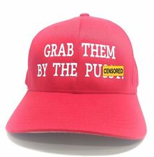 MAKE AMERICA GREAT AGAIN HAT Trump EMBROIDERED Grab Them By The Pu**y Hat