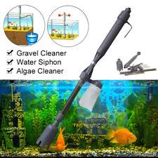 Electric Siphon Gravel Vacuum Cleaner Water Filter Pump Tool Aquarium Fish Tank