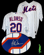 PETE ALONSO AUTOGRAPHED NEW YORK METS NIKE BASEBALL JERSEY FANATICS MLB HOLO