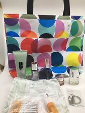 New Clinique 8 Piece Set- Mix Of Full Size And Bonus Gifts W/ Totebag Fall 2018