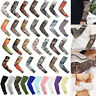 1 Pair Cycling Bicycle Arm Warmers Cuff Sleeve Cover UV Sun Protection Leg Cover