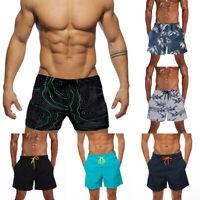 US Mens Boy Swimming Board Shorts Swim Trunk Swimwear Quick Dry Gym Beach Shorts