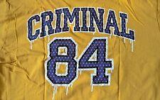 Criminal Rare Vintage Graphic T Shirt - size Small