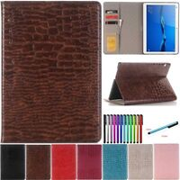 Smart PU Leather Case For Huawei MediaPad M5 10.8 /M3 8.4 /T3 8 10 Tablet Cover