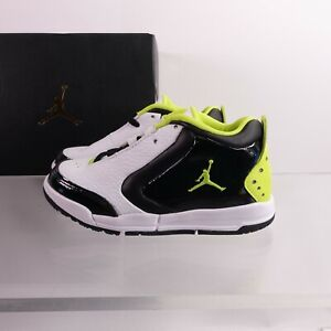 Size 12 Little Kid's PS Jordan Big Fund SE Sneakers CD9652-003 Black/Green