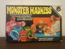 MONSTER MADNESS BOARD GAME - 1975 - BY BERWICK'S TOY CO - 1970's -