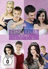 CINDERELLA STORY 1-4 (Hilary Duff, Selena Gomez) 4 DVDs NEU+OVP