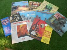 COUNTRY MUSIC LP'S - COLLECTION OF NINE (INCLUDING ONE DOUBLE ALBUM)