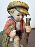"""Vintage Goebel Hummel """"On Secret Path"""" #386 TMK 5 Figurine, West Germany"""