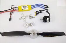 KGPM108- 1 set BL Motor,30A ESC & Folding Prop.(10x 8)for mini RC Powered Glider