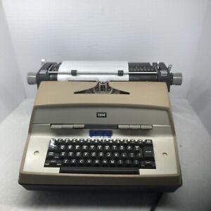 """IBM Electric Typewriter Model 12 Vintage Works !!! Please """"read """"."""