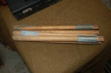 one set WWII US Army Airborne Shelter halve tent poles