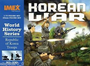Rpok Troupes Corée Guerre, IMEX Figurines 1:72, Art. IM530