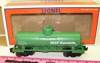 """New Lionel 6-19614 BASF 1-D 8,000 Gallon Tankcar """"UTLX 78252"""""""