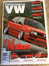Performance VW Magazine October 2012 PVW VW GTI VR6 1.8T Mk4 Mk1