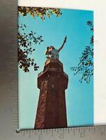 Vintage Postcard Birmingham Alabama Vulcan Park Largest Iron Statue in World