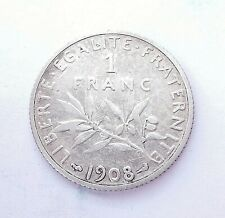 1 franc SEMEUSE 1908