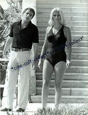 VIRNA LISI + Robert Hossein * PRESSEFOTO  24x18cm PHOTO Press Vintage ´71