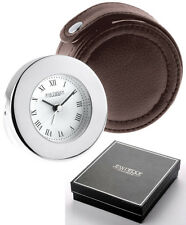 Jean Pierre Travel Alarm Clock with Free Engraving D11