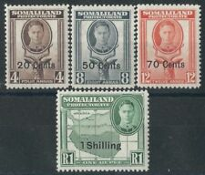 Mint Hinged British Protectorate Decimal Stamps