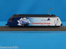 """Marklin 39609 BLS Electric Locomotive Br 465 """"Connecting Europe""""  Blue-White"""