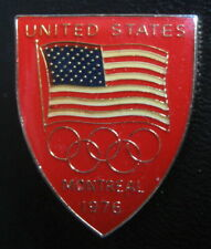 SUMMER OLYMPIC GAMES MONTREAL 1976 - TEAM OF USA BADGE