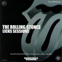 THE ROLLING STONES LICKS SESSIONS CD ALBUM MC-102A KEYS TO YOUR LOVE HARD ROCK