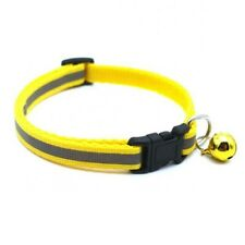 Reflective Collar Dog Cat Safety with Bell for Pet Kitten