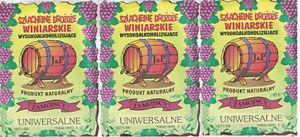 🍷👍👌 3 x Weinhefe UNIVERSAL für Mehrfruchtweine Naturhefe Gärhefe 🍷👍👌