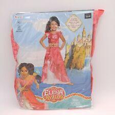 Disney Elena of Avalor Halloween Costume Children's Size S/P(4-6x)