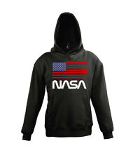 Fun Kinder Hoodie Kapuzen Pullover Nasa USA Astronauts Space Weltall Agency