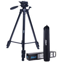 Universal Professional Travel Tripod for Canon Nikon Camera Camcorder Pan Head
