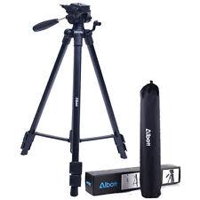 Universal Professional Travel Tripod for Canon Nikon Camera Camcorder Pan Head