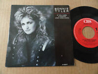 "DISQUE 45T DE BONNIE TYLER  "" IF YOU WERE A WOMAN """