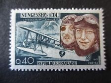 Timbre - FRANCE - L'oiseau blanc - Nungesser et Coli - 1967 - neuf ** - n° 1523