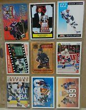 9 Card Lot Wayne Gretzky Oilers Kings rangers st louis canada Hockey