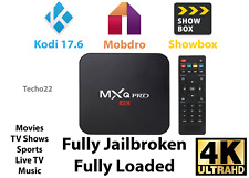 New Mxq Pro 4K Ultra Hd 3D 64Bit Android 7.1 Quad Core Smart Tv Box + Kodi 17.6