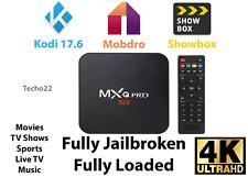 NEW MXQ Pro 4K Ultra HD 3D 64Bit Android 7.1 Quad Core Smart TV Box + KODI 17.6