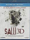 Blu-ray 3D + Blu-ray 2D **SAW 3D • IL CAPITOLO FINALE** nuovo 2011