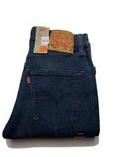 Levi Strauss 516 Mens Jeans Size 28 x 32 Straight Leg Moon Blue BNWT