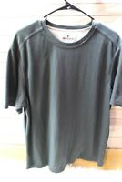 Woolrich Large Black Tee Short Sleeve Men's Shirt