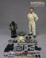 DAMTOYS 1/6 scale US Navy Seal 'Riverine Ops' Rifleman (Desert) Boxed figure
