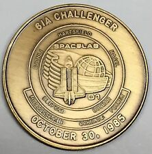 N061-A       NASA  SPACE  SHUTTLE  COIN /  MEDAL,      CHALLENGER,   STS-61-A