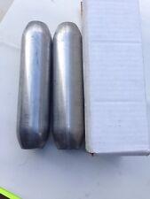 "Ap Exhaust 1 3/4""  In/out 3"" Diameter Glasspack Mufflers - 2 Pcs"