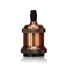 E26/E27 Retro Vintage Antique Edison Brass Rose Lamp Light Bulb Holder Sockets