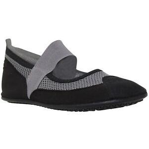 Women's Flat Mary Jane Water Yoga Sports Lightweight mesh Shoes Gray