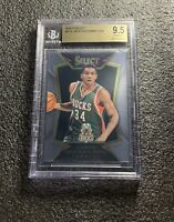 GIANNIS ANTETOKOUNMPO 2014-15 SELECT #75 BASE BGS 9.5 GEM MINT! MILWAUKEE BUCKS