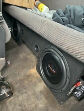 2 american bass sl-124 12 inch subs with under seat box