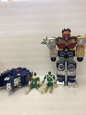 """Vintage Lot 2 Transformers 11"""" and 2 Power Rangers"""