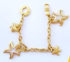 Bracelet femme métal doré charms étoile de mer .AV72